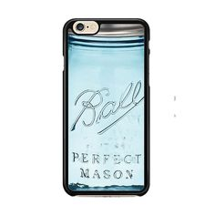 Blue Ball Glass Mason IPhone 6| 6 Plus Cases