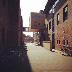 York St John University campus. The old meets the new. We like it!
