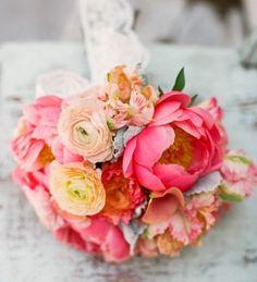 coral wedding - Google Search