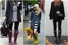 15 outfits con botas de lluvia que te inspirarán en los días nublados - IMujer