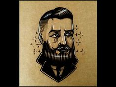 How to draw an Old School Gentlemen By thebrokenpuppet - YouTube