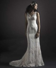 Elise Hameau wedding gowns | Cara Mia Vintage Elise Wedding Dress