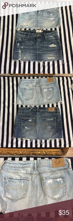 Abercrombie and Fitch Skirtbundle Barely worn, like new condition guaranteed Abercrombie & Fitch Skirts Mini