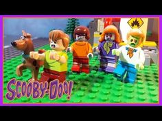 Lego Scooby Doo Brick Building Monster Portal #2 Stop Motion - YouTube