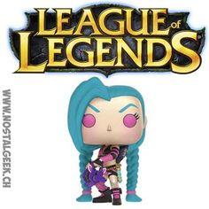 Funko Funko Pop! Games League of Legends Jinx geek suisse shop noel