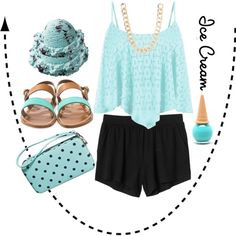 Mint Ice Cream Outfit. #FFR