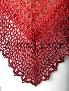 "✔""Summer in Sevilla"" shawl by Le Crochet d'Argent - free crochet pdf pattern"