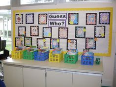 second grade bulletin board ideas | To view more pictures of this teacher's classroom click here .