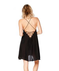 Open Back, Breezy Skirt.