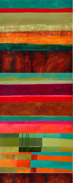 Jane Davies.  Love the colors in this. 30 x 12.