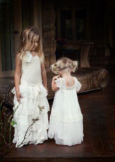 Vintage flower girl dresses  Alice & Olive Dress by Tea Princess