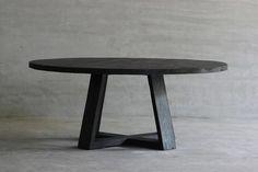 RECLAIMED ELM PLANK TABLE - X BASE | JuxtaPosition