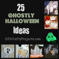 25 Ghostly Ideas For Halloween - Collection