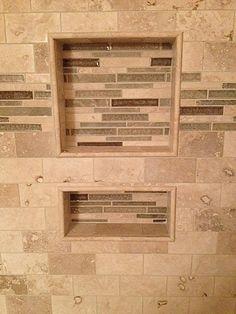 We have a niche in the tile business! #bathroom #tile #mosaics #remodel #shower