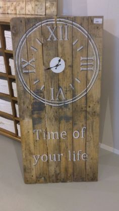 ... van Steigerhout-Pallet hout maken on Pinterest  Van, Om and Tes