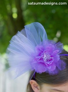 make your own fascinator   Kentucky Derby hats   DIY fascinator   DIY party hat   tea party accessories   birthday party ideas   crafts for kids