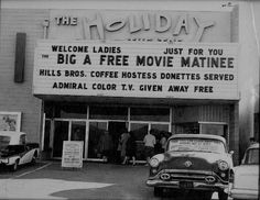 Holiday Theater...about 1960 on Topanga and Roscoe in Canoga Park, Ca.