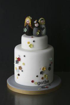 Matriochkas, by Sugarplum Cake Shop