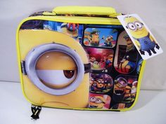 Despicable Me Minions Lunch Bag Box NEW #DespicableMe #LunchBag