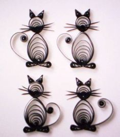 Halloween Cats - Quilled Creations Quilling Gallery