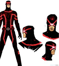 Cyclops design from Uncanny Xmen 2013