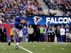 Eli in the NFC wildcard game. Let's Go GMEN
