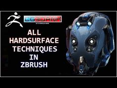 ZBRUSH TUTORIAL_ALL HARD SURFACE TECHNIQUES(DETAIL) - YouTube