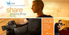 20GB of free online storage! Get it before the offer expires! :)