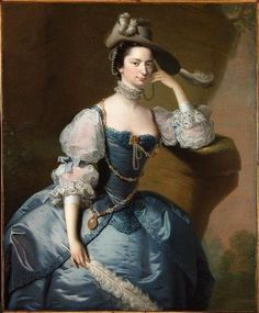 ca. 1755-1756 Margaret, Lady Oxenden by Thomas Hudson