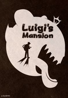 #LuigisMansion Poster (i'll make a #Speedrun of this game soon on http://fr.twitch.tv/loweakgraph )