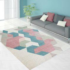Moderner Designer Teppich Wohnzimmer