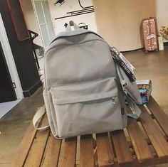 2018 Women Canvas Backpacks Women Fashion School Backpacks for Teenage Girls 2 Pcs/se Rucksack Bagpack Female Schoolbag Cool Backpack Outfit Accessories From Touchy Style Stylish Backpacks, Cute Backpacks, Girl Backpacks, School Backpacks, Canvas Backpacks, Leather Backpacks, Leather Bags, Backpack Outfit, Satchel Backpack