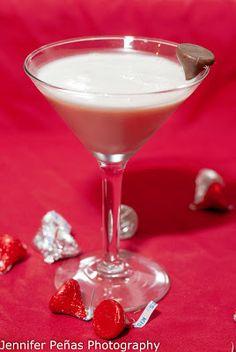French Kiss     (1 oz vodka  1 oz Chambord  1 oz dark creme de cacao  1 1/2 oz half and half)