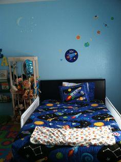 Boys space room
