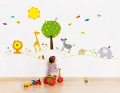Jungle wall stickers by Bumoon