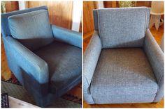 Tuoli ennen ja jälkeen..