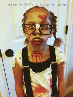 The Circus Zombie nerd costume & librarian zombie - love it! great costume idea | Funny | Pinterest ...
