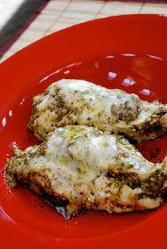 Low carb pesto chicken
