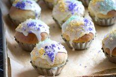 Celebrating Mardi Gras with Mini King Cakes
