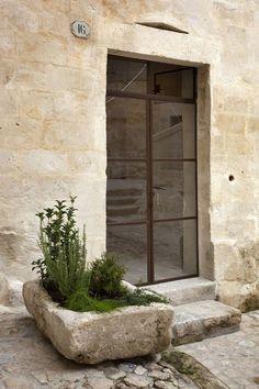Villa Design, Design Hotel, House Design, Exterior Design, Interior And Exterior, Interior Garden, Stone Houses, Exterior Doors, Windows And Doors