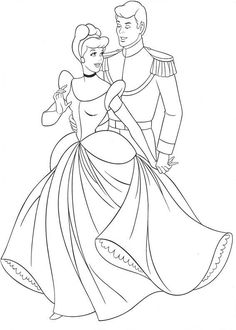 Disney Coloring Pages - Cinderella 5