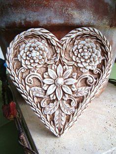 Infinita beleza... I Love Heart, Key To My Heart, Happy Heart, Heart Art, Humble Heart, My Funny Valentine, Love Valentines, Hearts And Roses, Felt Hearts