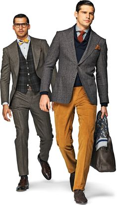 Fall looks from the suit supply