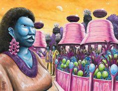 A Draat Voob woman from planet Tokowaarji : pics