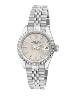 Women's Rolex Date Stainless Steel Watch by Estate Watches on Gilt.com