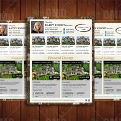 Detailed Open House Real Estate Listing Template Instant Download - House listing template