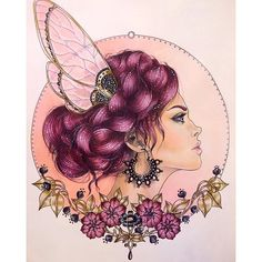 #art #coloring #coloringbook #dagdrömmar #hannakarlzon #prismacolor #coloredpencils #panpastels @EMMIJULIN