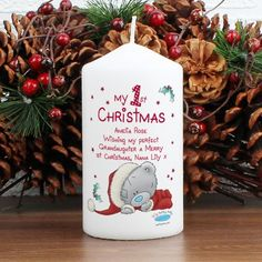 first christmas candle - Google Search