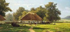 Vladimir Orlovsky, painting - A spring day in Ukraine /Владимир Орловский, живопись - весенний день в Украине/