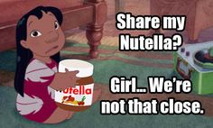 Um… | 17 Pictures Disney And Nutella Lovers Will Think Are Hilarious